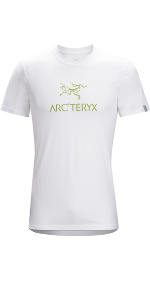 Arc'teryx M's Arc'word SS T-Shirt White/Bamboo